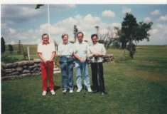 Bob France And Some Of His Golf Competitions 1990s