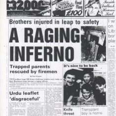 A Raging Inferno