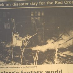 Red Cross Arson
