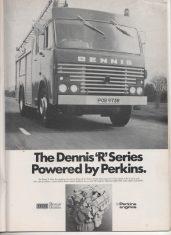 Advert For Dennis Fire Appliance