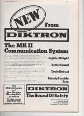 The Brand New Diktron Communication System