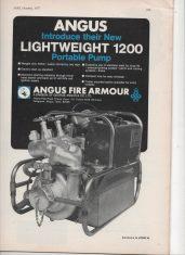 Advert For The Lightweight Portable Pump