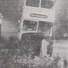 Narrow Escape For Bus Passengers