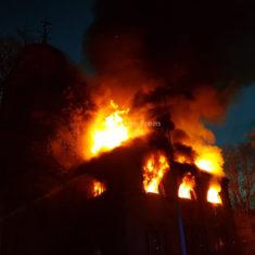Victoria Street Old Church Fire