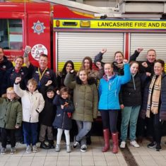 Firefighters Inspire Kids
