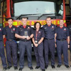 White Watch Have Won The Service Fund Raising Star