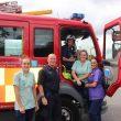 Blackburn Firefighters Visit Hospital